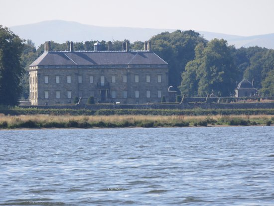 Kinross House from the island