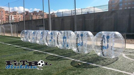 Futbol Bubble