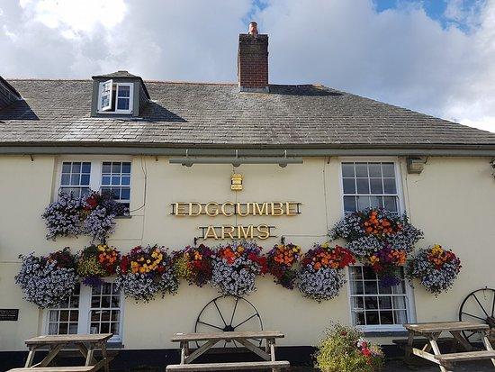 The Edgcumbe Arms: Pub Exterior