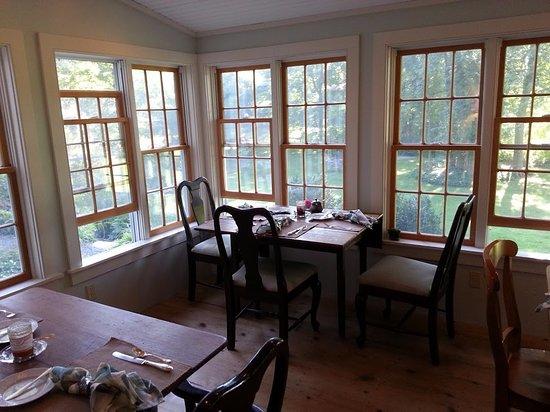 Hillsdale, estado de Nueva York: Breakfast Room