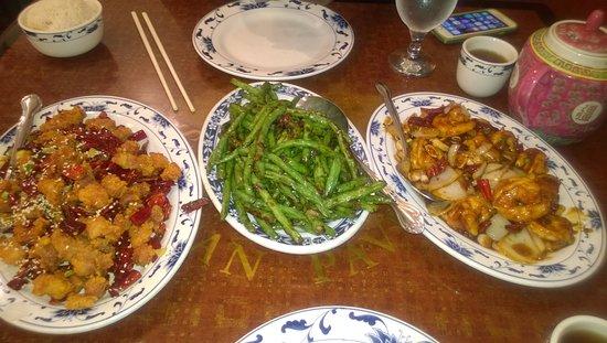 Sichuan Pavilion: Prawns, Chicken