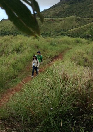 Agat, Mariana Islands: We met a couple of other Trekkers along the way