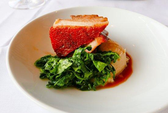 Breakwater Restaurant and Bar: Crispy seared Pork Belly