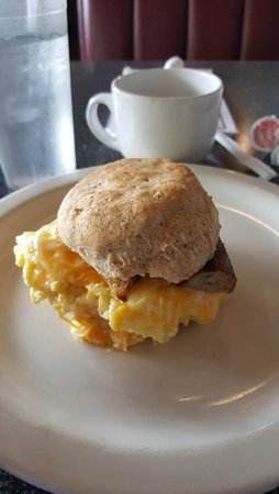 Roswell, GA: Breakfast biscuit