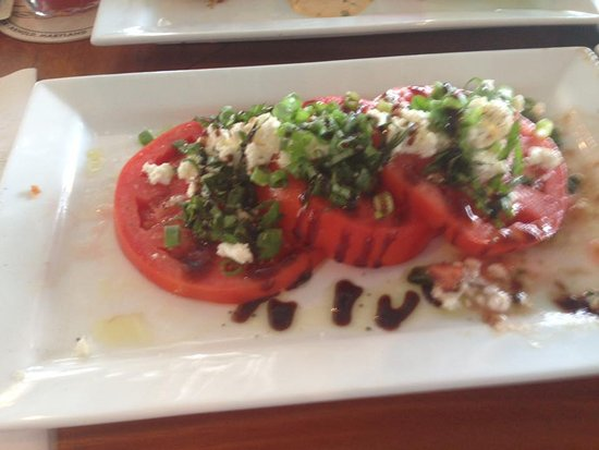 Arnold, MD: Excellent Tomato & Goat Cheese salad