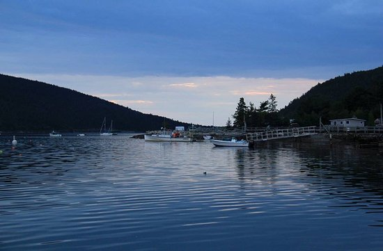 Mount Desert, ME: Sunset at Somes Sound