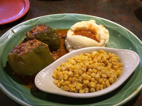 Livonia, MI: Stuffed pepper dinner