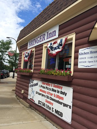 Good patty melt on the oldest building on Morton grove