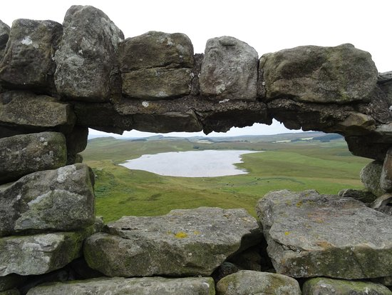 A view from above - Hadrian's Wall Northumberland