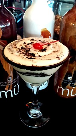 Indian Harbour Beach, FL: Mu-mousse cocktail