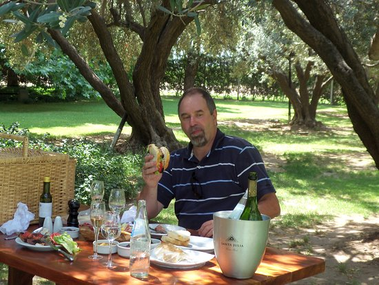 Maipu, Argentina: Lunch in the vineyard