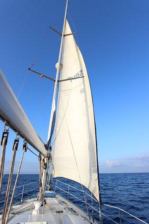 Ta' Xbiex, Malta: Sailing out to sea