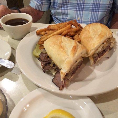 Archibald's Restaurant: French dip sandwich