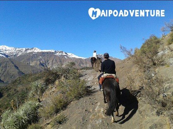 San Jose de Maipo, Şili: Cabalgatas En Cajon del Maipo