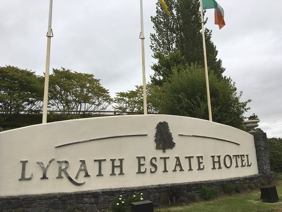 Lyrath Estate Hotel & Spa: Sign