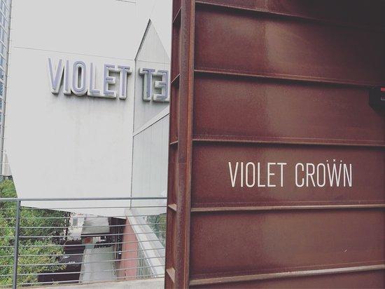 Violet Crown Cinema: Entrance