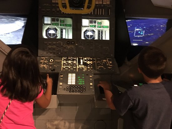 Wapakoneta, OH: interactive exhibit has two stations