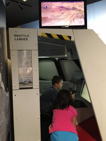Wapakoneta, OH: shuttle lander is a little more challenging