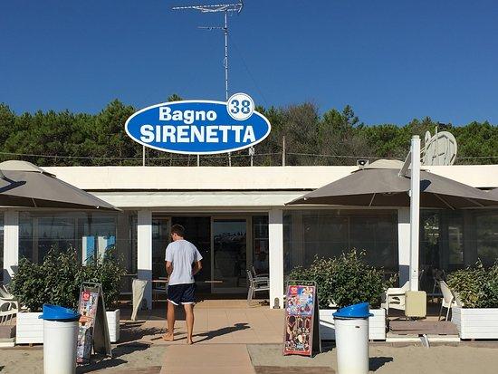 Sirenetta paradiso ristorante pizzeria marina romea - Bagno sirenetta marina romea ...