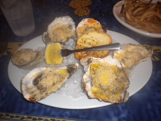 Oxford, MS: Half dozen Char-Grilled Oysters