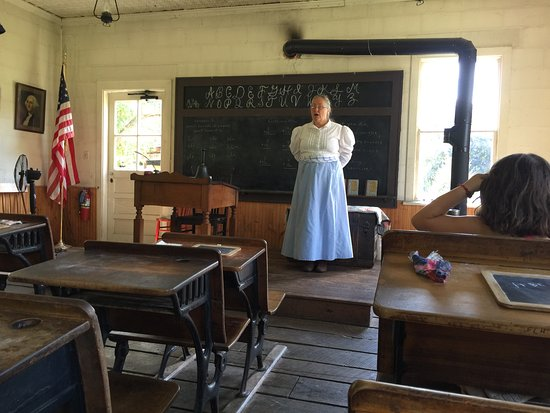 Blackberry Farm: One Room School House.