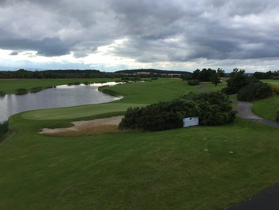 Killenard, Irlandia: Golf course from Judge Roy Bean Bar