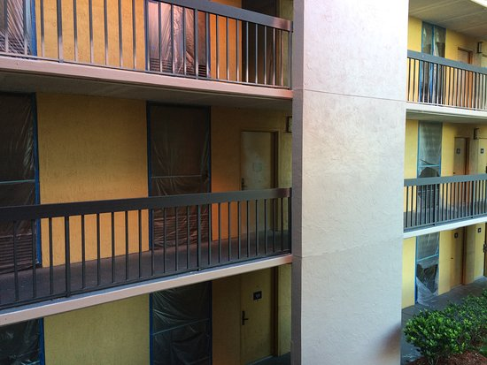 Grand Hotel Orlando: area em reforma