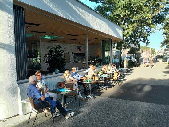 Seewalchen am Attersee, Austria: Café Eiszeit
