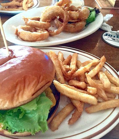 Fuquay-Varina, NC: Burger & Fries / Onion Rings