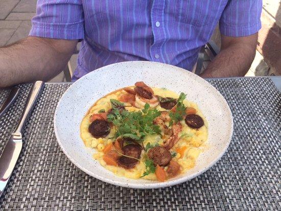 Beamsville, Καναδάς: Scallop & Chorizo Polenta