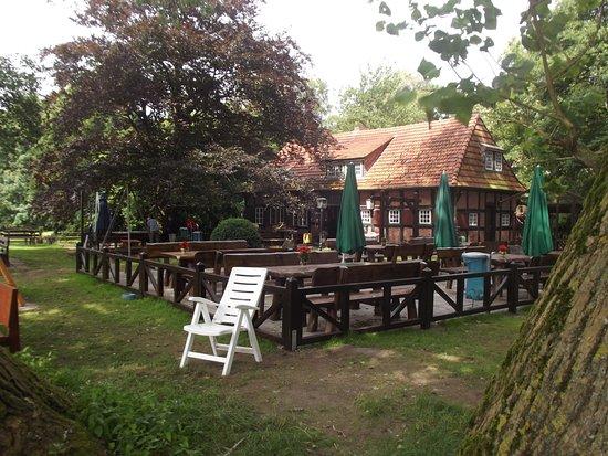 Osterholz-Scharmbeck, Германия: Blick auf den Gastgarten