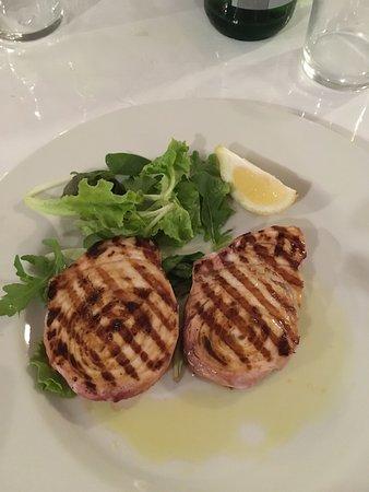 Ricetta bistecca di tonno alla piastra