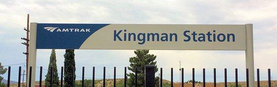 Kingman, AZ: Amtrack Sign