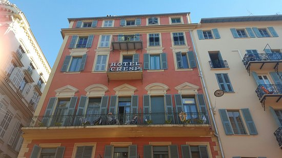 Hotel Cresp : Great Base for a holiday in Nice