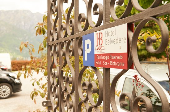 Hotel Belvedere Bellagio: Private Parking free of charge