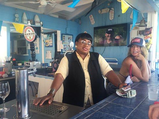Hope Town, Elbow Cay: Mama Cuda and Baby Cuda