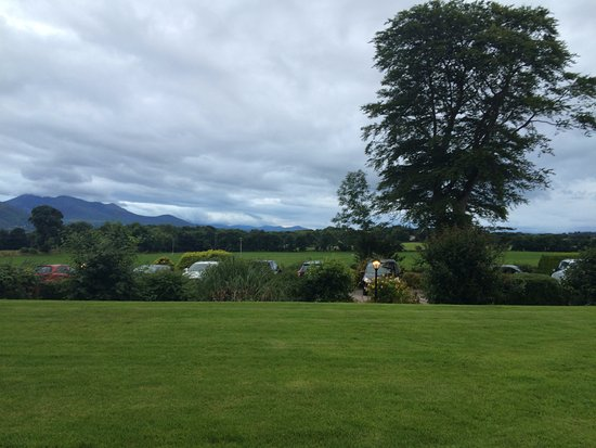 Killeen House: view from the garden