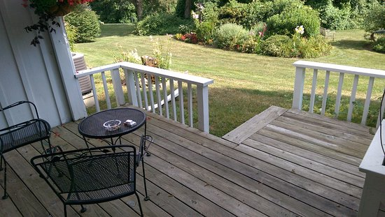Chadds Ford, PA: Private Deck