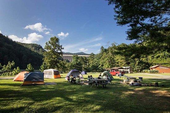 Fontana Dam, NC: Campground