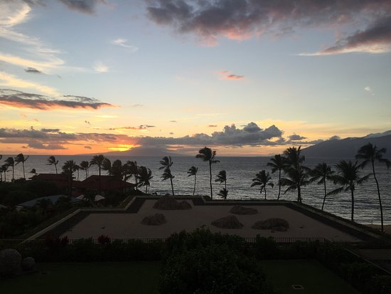Four Seasons Resort Maui at Wailea: View from Ocean Front room