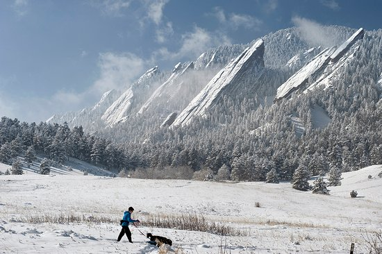 Hike any time of the year, Boulder