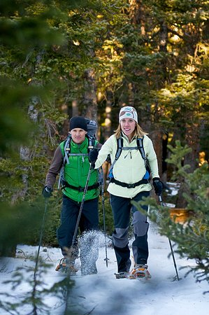 Boulder, CO: Snowshoe through pine forests