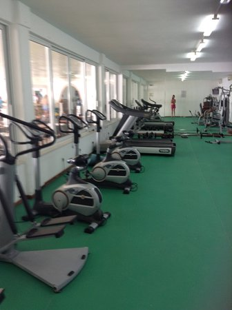 Louis Zante Beach Hotel: Gym (because I saw someone ask if there were any pics of it !)