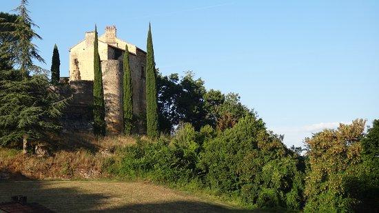 Prayssac, Francja: Le château au sunset.