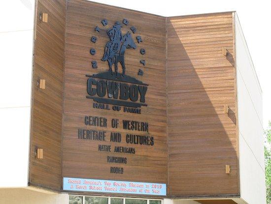 North Dakota Cowboy Hall of Fame: Entrance