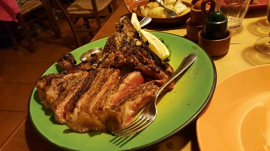Montaione, Italia: La tagliata migliore mai mangiata!