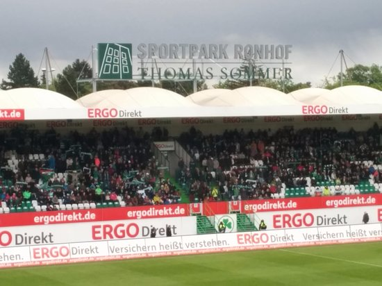 Fuerth, Allemagne : Sportpark Ronhof Thomas Sommer