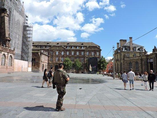Palais de Rohan, Estrasburgo, La Alsacia, Francia.