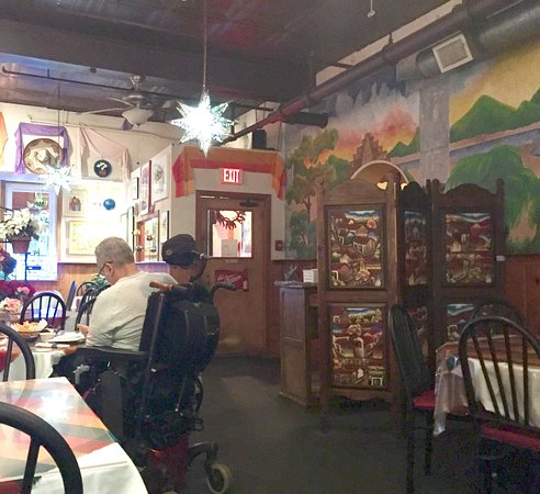 Lawrence, MA: Cafe Azteca interior