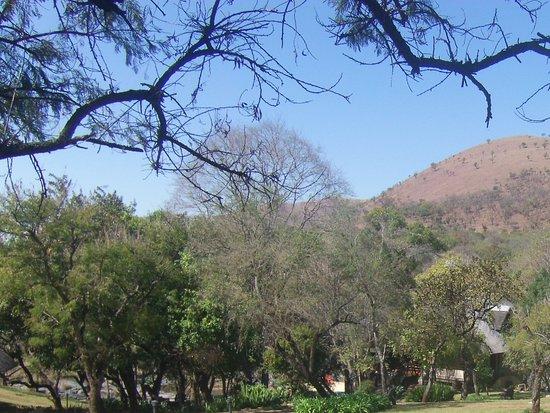 Paulpietersburg, แอฟริกาใต้: At Koubad Farm Lodge